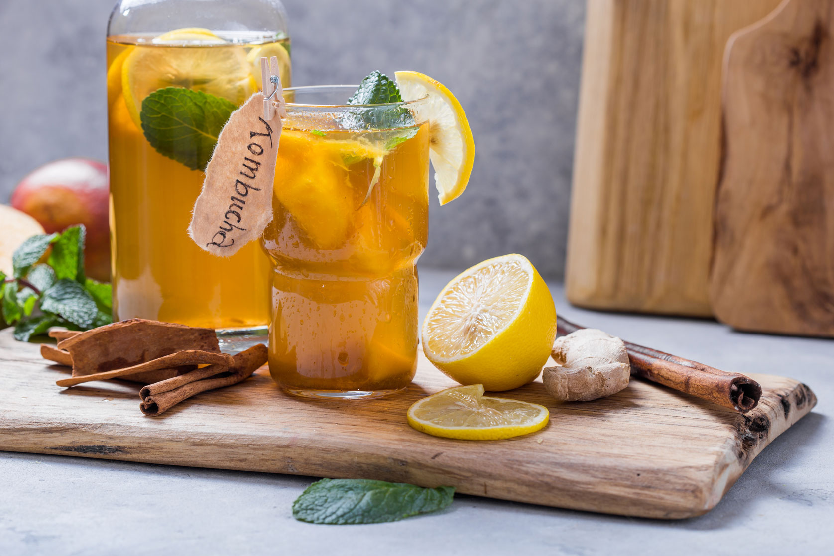 Fermented Foods - Kambucha